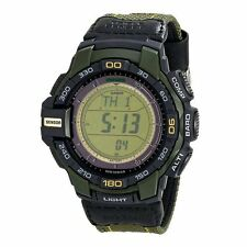 Casio PROTREK Tough Solar Mens Digital Watch Casual Green PRG-270B-3D