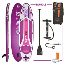 INFLATABLE STAND UP PADDLE BOARD ISUP SKIFFO ELLE SUP 10'