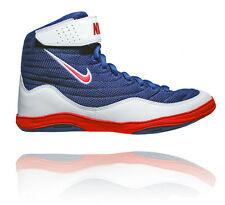 NIKE INFLICT 3 MENS WRESTLING SHOES DEEP ROYAL/UNIVERSITY RED/WHITE