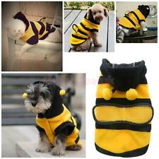 Pet Hoodie Clothes Cute Puppy Apparel Costume Cat Dog Coat Outfit Bee Supplies