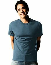 Hanes 2165A4 Mens TAGLESS ComfortSoft Dyed Crewneck T-Shirt 4-Pack