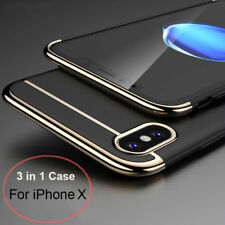 Fashion Luxury Matte Case PC+Electroplating Cover For iPhone SE 6 7 7 plus