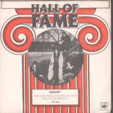 """ARGENT God Gave Rock And Roll To You 7"""" VINYL UK Epic 1973 Hall Of Fame Reissue"""