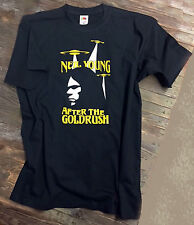 Neil Young Inspired After the Gold Rush T Shirt Goldrush Crazy Horse Harvest