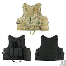Adjustable Tactical Military Vest Army Paintball Airsoft Combat Assault Vest New