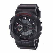 Casio Mens Analog-Digital Watch Sport Black GA-110-1A GA-110AC-4A GA-110AC-7A