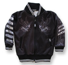 Six Bunnies Trouble Maker Rockabilly Tattoo Kids Jacket Windcheater Varsity Punk