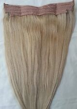 """18"""" 20"""" 100% Human Hair Extensions,100 Grams, Halo Style (ONE PIECE ) # 18"""
