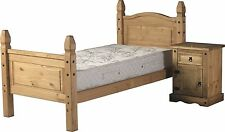 DOUBLE | KING | SINGLE CORONA PINE BED FRAME WOODEN BED BASE AND MATTRESS SET