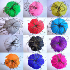Free shipping 1-10pcs Beautiful feather flower for headdress