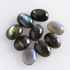 8X6MM Genuine Labradorite Oval Shape, Calibrated Cabochons AG-209