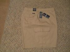CHAPS BIG AND TALL CARGO SHORTS 100% COTTON DIFFERENT SIZES/COLORS MSRP $70-NWT
