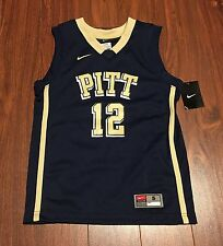 Pittsburgh Pitt Panthers Basketball Nike Replica #12 Youth Jersey New With Tags