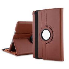 360 Degree Rotating Leather Case Smart Cover Swivel Stand For iPad Mini 1 2 3