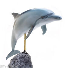 KAIYOUKOUBOU Bottlenose Dolphin Excellent Figure Fish Carving True to Life F/S