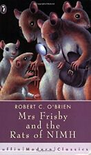 Mrs Frisby and the Rats of NIMH (Puffin Modern Classics), OBrien, Robert, Used;