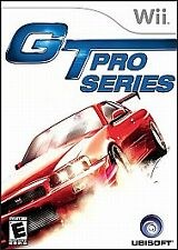 GT Pro Series (Nintendo Wii, 2006)GT ProSeries ~Includes Case & Manual~Complete~