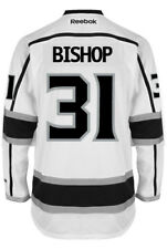 Ben Bishop Los Angeles Kings NHL Away Reebok Premier Hockey Jersey