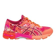 Asics Gel Noosa Tri-11 GIRL'S RUNNING SHOES, ORANGE/PINK ­- Size US 1, 2, 3 Or 4