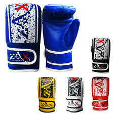 Junior Boxing Mitts / Bag Gloves Children Punch Bag Traning Kids Age 7 To 10
