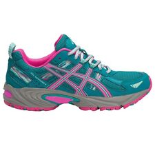 Asics Gel Venture-5 WOMEN'S TRAIL SHOES, BLUE/PINK/GREY - Size US 8, 8.5 Or 9