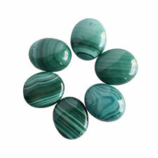 11x9MM Oval Shape, Malachite Calibrated Cabochons AG-215