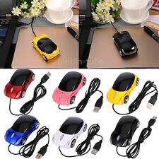 3D Car Shape Optical Mouse USB Wired 1200DPI LED Light Gaming Mice For PC Laptop