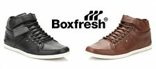 Boxfresh Mens Trainers Swich Premium Leather Lace Up Hi Tops Casual Shoes