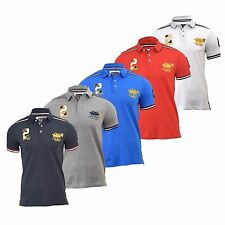 Mens Polo Shirt Santa Monica Designers Orrock Casual Polo Shirt Tee Top, T-Shirt