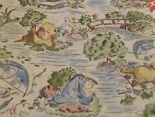 Winnie the Pooh Fabric Nursey  for Quilting Disney 100% Cotton Calico Fabric