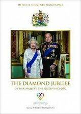 OFFICIAL SOUVENIR PROGRAMME ~ THE DIAMOND JUBILEE OF HER MAJESTY THE QUEEN 1952
