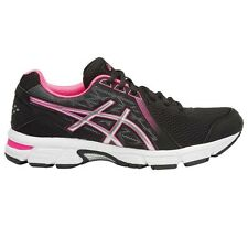 Asics Gel Impression-8 WOMEN'S RUNNING SHOES, BLACK/SILVER - Size US 6, 6.5 Or 7