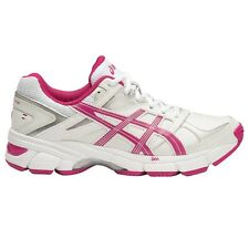 Asics Gel 190TR WOMEN'S CROSS TRAINING SHOES, WHITE/PINK - Size US 8, 8.5 Or 9