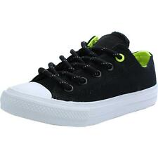 Converse Chuck Taylor All Star II Shield Canvas Junior Black Textile Trainers