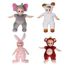 Cute Soft Stuffed Body Plush Vinyl Baby Doll for Kids Sleeping Plush Toy Gift