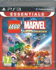 Lego Marvel Super Heroes  Brand New PS3 Essentials Game UK Release