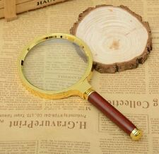 60,80mm Handheld Jewelry Classic Magnifier Magnifying Glass Loop Loupe Reading