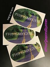 Runners Window Decals Stickers Runner Girl Live Love Run This Is My Gym  ACTIVE