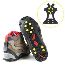Cleats Over Shoes Studded Snow Grips Ice Grips Anti Slip Snow Shoes Crampons @W