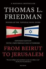 From Beirut to Jerusalem by Thomas L. Friedman (2012, Paperback, Revised)