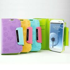 Feelook Pattern Wallet Diary Case for Samsung Galaxy S3 i9300 _