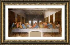 Alonline Art - FRAMED Poster The Last Supper Leonardo Da Vinci Framed Art