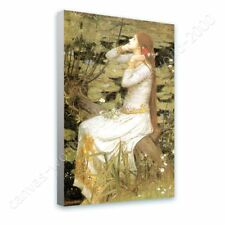 READY TO HANG CANVAS Ophelia Waterhouse Framed Art Oil Paintings Prints Giclee