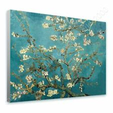 READY TO HANG CANVAS Almond Blossom Vincent Van Gogh Framed Paints For Bedroom