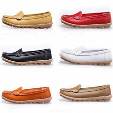 Womens Casual Driving Loafers Moccasins Flats Boat shoes anti skid Light weight