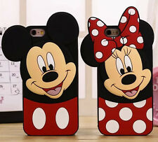 3D Cartoon Minnie Soft Silicone Phone Case Back Cover Skin For Various Phones