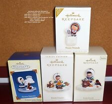 HALLMARK ORNAMENTS FROSTY FRIENDS 2005  2006  2006 LIMITED 2007 YOUR CHOICE