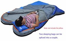 Bag Sleeping Camping Adult Outdoor Hiking Envelope Travel Warm Mummy 3 Portable