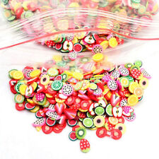 1000x Nail Art Mix Design Fimo Slices Polymer Clay Stickers Decoration New CA