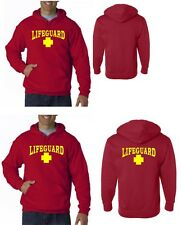 LIFEGUARD HOODIE HOODY JACKET SWEATSHIRT LIFE GUARD 2 optional locations #4